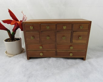 Vintage Mid Century Jewelry Chest Jewelry Box Jewelry Storage Home Decor Modern Danish style