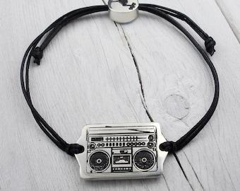 Ghetto Blaster Friendship Bracelet