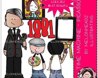 Time Machine clip art - Picasso - Mini
