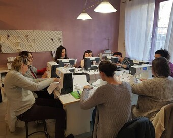 """Module 1 sewing classes: """"Small bronze hand"""" Wednesday 22 pm payment in 3 x"""