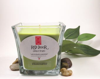 Clemenpine Soy Wax Candle-Scented Candle