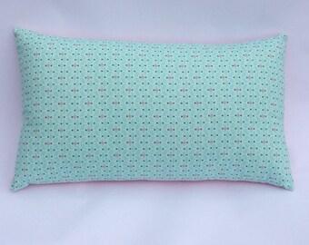 Cushion 50 x 30 Mint graphic Mint