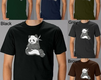 Men's T-shirt - Endangered Species - Created using a list of 37 popular animals on the endangered species list