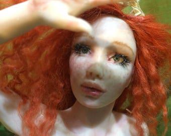 Ooak Fairy fantasy art doll by A.C