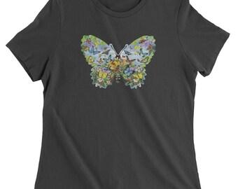 Butterflies Womens T-shirt