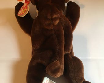 Chocolate the the moose TY Beanie Baby