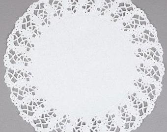 "10 - 14.5"" Kenmore PAPER LACE Doilies | You Pick Quantity | Plate Chargers, Centerpieces, Wedding Party Decorations, Placemats"