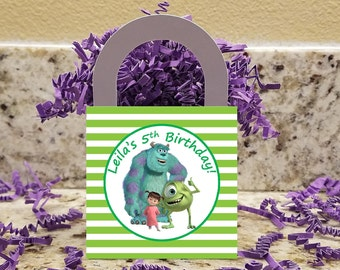 Monsters Inc Treat Boxes, Monsters Inc Popcorn Boxes, Monsters Inc Candy Boxes,Monsters Inc Party Boxes
