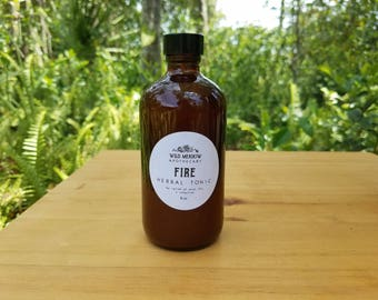 Fire Herbal Tonic | relief from cold, flu, + infection