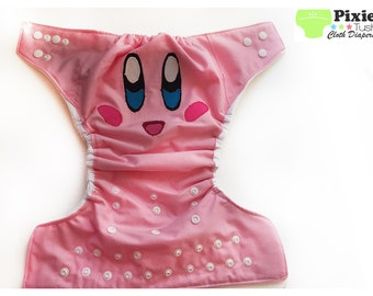 Kirby, Pop Star Size Cloth Diaper, Pocket Diaper (Photoshoot)