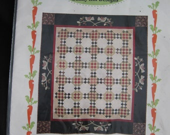 """Bunny Hill Designs Holiday Tapestry Quilt 73"""" x 84"""" Pattern Uncut Quilting"""