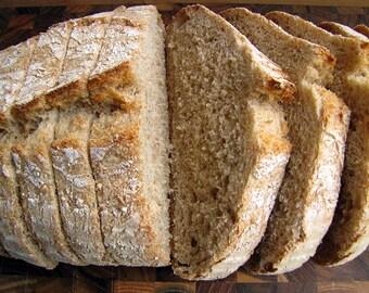 Rustic Artisan Bread, Whole Grain Bread, Light Wheat Bread, Wheat Bread, Bread, Homemade Bread