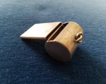 Vintage Sterling Leonore Doskow Whistle Pendant or Charm