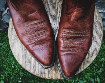 Boulet Cowboy Boots 8.5