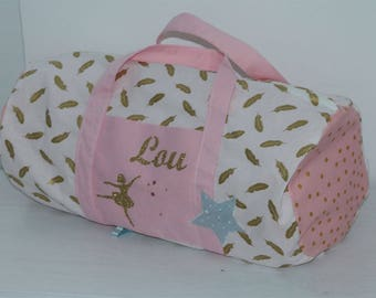 Personalized bowling bag, dance theme to order