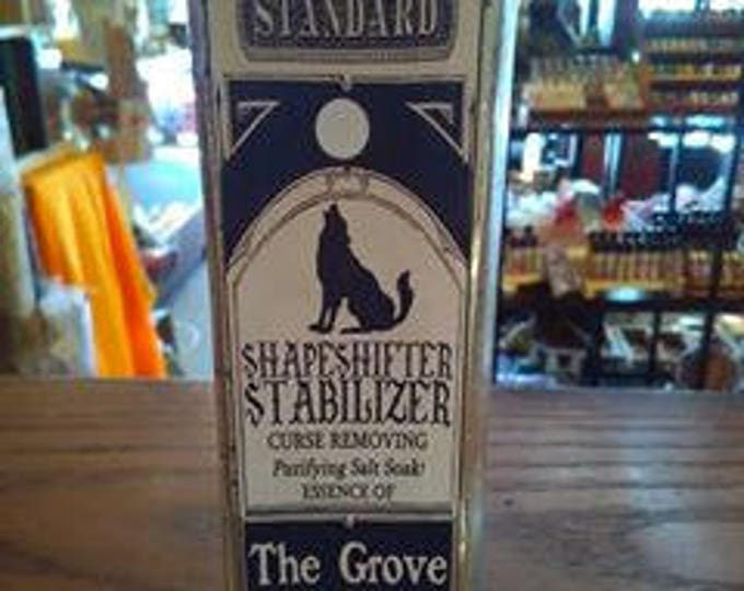 Shapeshifter Stabilizer - Bathing Salts, Dead Sea Salts, Handmade, Bath and Body, Love Potion Magickal Perfumerie