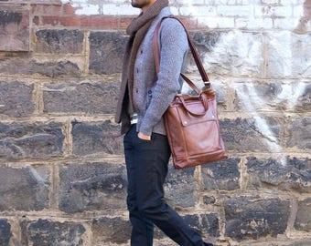 Mens Leather Briefcase, 17 inch Laptop Bag, Mens Briefcase, Womens Briefcase, Womens Laptop Bag, Attorney Laptop Bag, Professional Briefcase