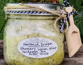 Lemon Rosemary Scrub