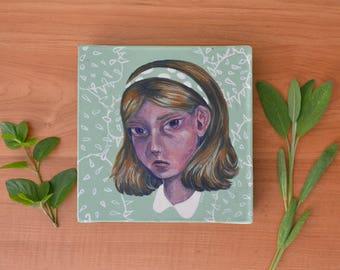 Prickly Pear Original Acrylic Painting
