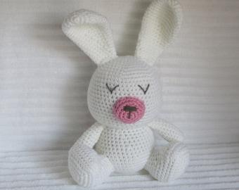 Crochet Bunny, Bunny Stuffed Animal, Crochet Animal, Bunny Plush, Nursery Decor, Stuffed Bunny, Plush Animal, Stuffed Animal, Bunny Rabbit