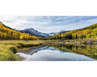 Colorado Photography, Mountain Photography, Colorado Landscape Photo,Tree Photography, Aspen Trees, Colorado Mountains, Mountain Landscape
