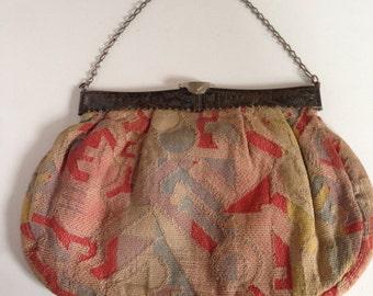 1940's Dutch Cloth Purse