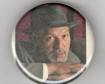 August Wilson Playwright Portrait 1.25 inch Button