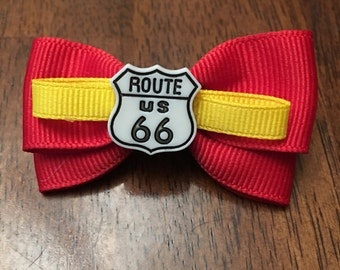 Cars themed magic band bow
