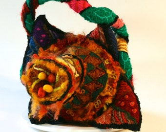 Ormus Cadmium - Surreal embroidery sculpture handbag (David Wolfe, 2014)
