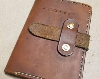 Debossed Passport Cover