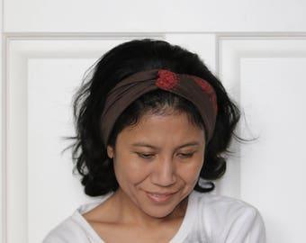 Headbands For Women, Bohemian Turban Headband Women , Hippie Headband, Yoga headband, Turban Headwraps, Wide Yoga Headband, Twist Headband