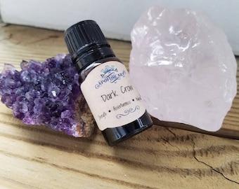 Dark Crow- Juniper Rose Perfume Oil