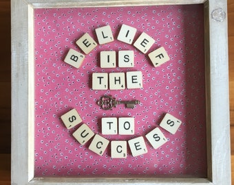 Belief is the key to success