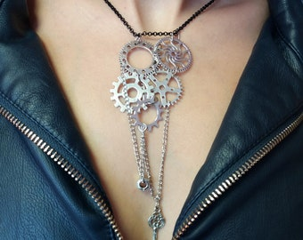 Necklace steampunk. Necklace