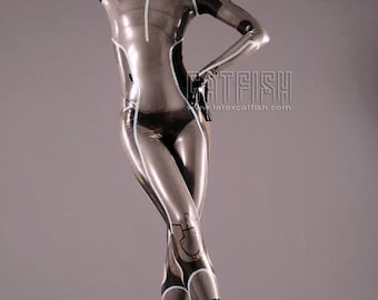Tron Lady Latex Costume  ,Latex Cosplay Catsuit, Tron Cosplay Clothing