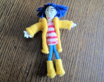 Coraline Doll - For Collectors - Unique Hand Crafted Keepsake Gift