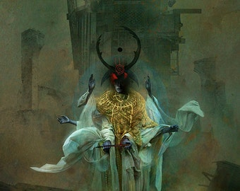 Tatters of the King giclee print