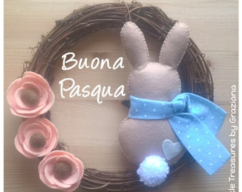 Easter Garland with Bunny