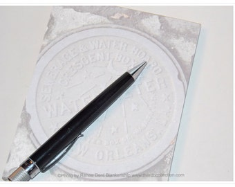 Watermeter Notepad - New Orleans Water Meter Pad - New Orleans Stationery - theRDBcollection