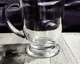 Fancy Hot Tea Glass