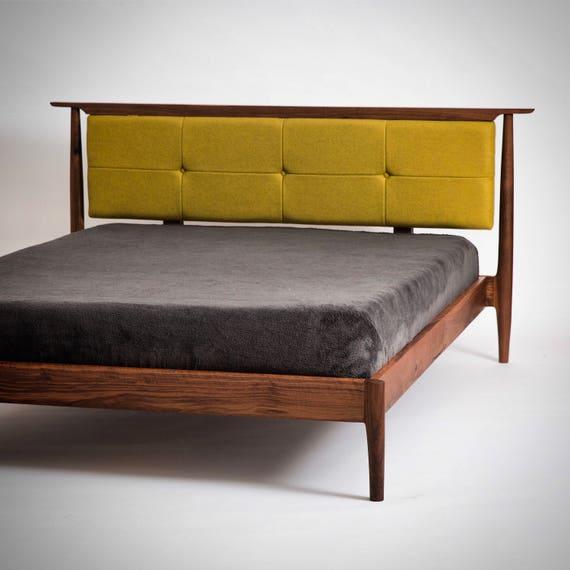 Mid Century Bed Mid Century: Mid Century Modern Storage Bed // Danish Modern Bed