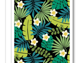 Tropics Greeting Card BP05