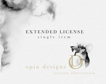 Extended License : OpiaDesigns - Single item license