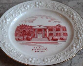 Paul Quinn College Waco Texas Girls Dormitory Plate