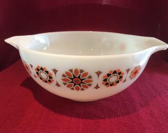 "Pyrex JAJ Toledo Cinderella Large Mixing Bowl 8 3/4"" diameter 3 pint appx #443"