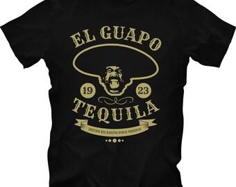 The Three Amigos El Guapo Chevy Chase Steve Martin Short tee T Shirt
