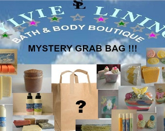 Mystery Grab Bag / Soaps And Beauty Products Grab Bag / Discounted Beauty Items