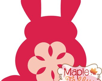 Bunny Back SVG and DXF file