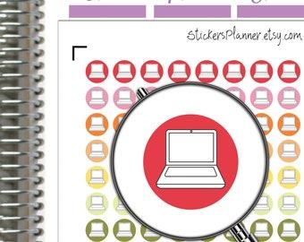 Laptop Computer Planner Stickers Laptop Computer Stickers Planner Erin Condren Planner Happy Planner Laptop Stickers School Stickers (i1)