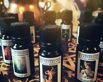 Goddess and Divine Archetypes oils
